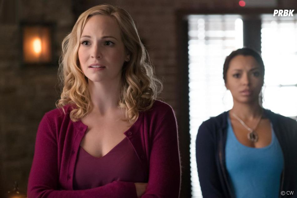 The Vampire Diaries saison 8 : Caroline (Candice Accola) sur une photo de l'épisode 10