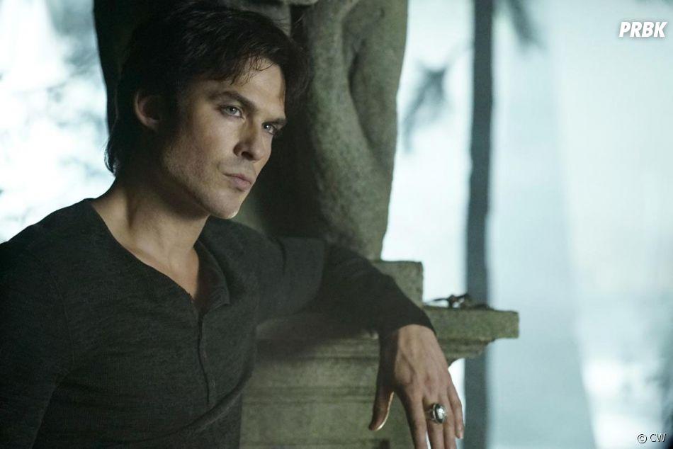 The Vampire Diaries saison 8 : Damon (Ian Somerhalder) sur une photo de l'épisode 10