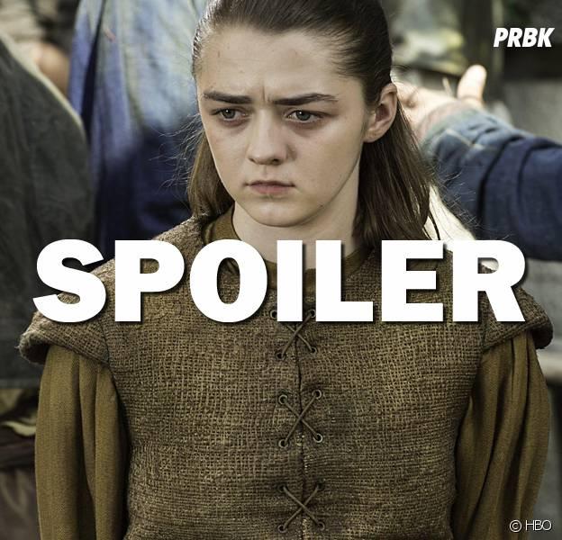 Game of Thrones saison 7 : Maisie Williams (Arya) en guerre contre les spoilers et les gamins