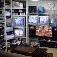 Insolite : une maison emménagée sur mesure pour une collection de jeux vidéo !