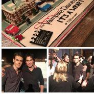 The Vampire Diaries saison 8 : les acteurs fêtent la fin du tournage en vidéos et photos