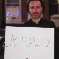 Love Actually : Andrew Lincoln et ses pancartes de retour dans le premier teaser