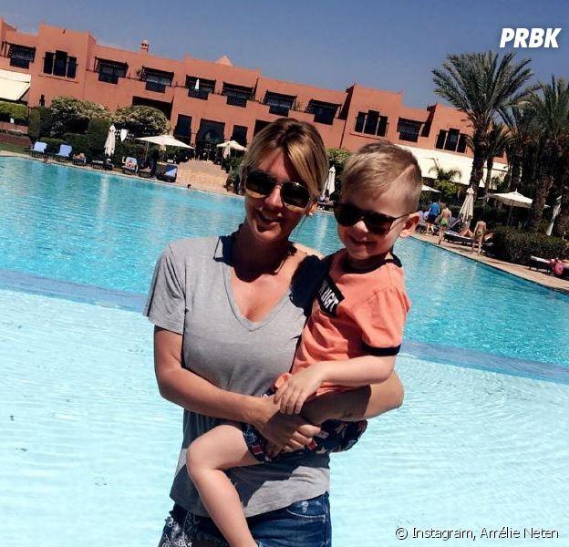 Amélie Neten se confie sur le père de son fils Hugo