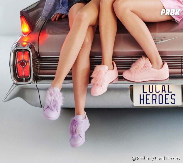 Reebok x Local Heroes : la collab pastel et girly !