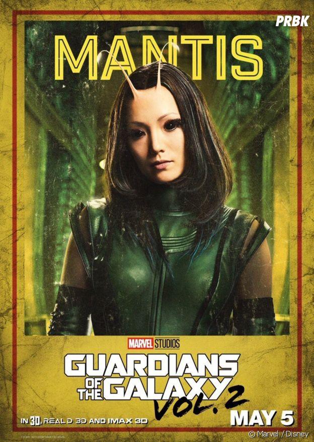 Mantis dans les Gardiens de la Galaxie 2.