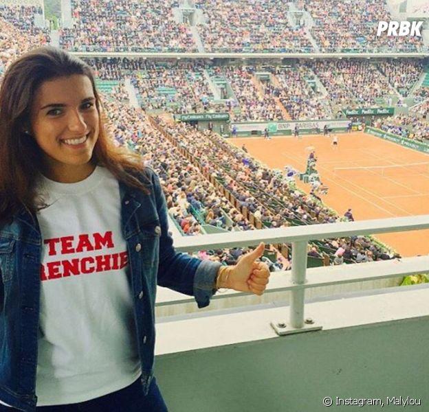 Maly Thomas a été embrassée de force par Maxime Hamou à Roland Garros 2017