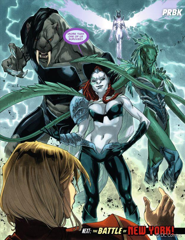 Supergirl saison 3 : voilà à quoi ressemble Reign dans les Comics