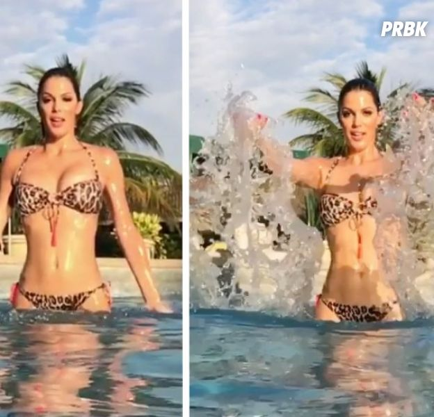 Iris Mittenaere future James Bond Girl ? Bikini sexy et slow motion sur Instagram