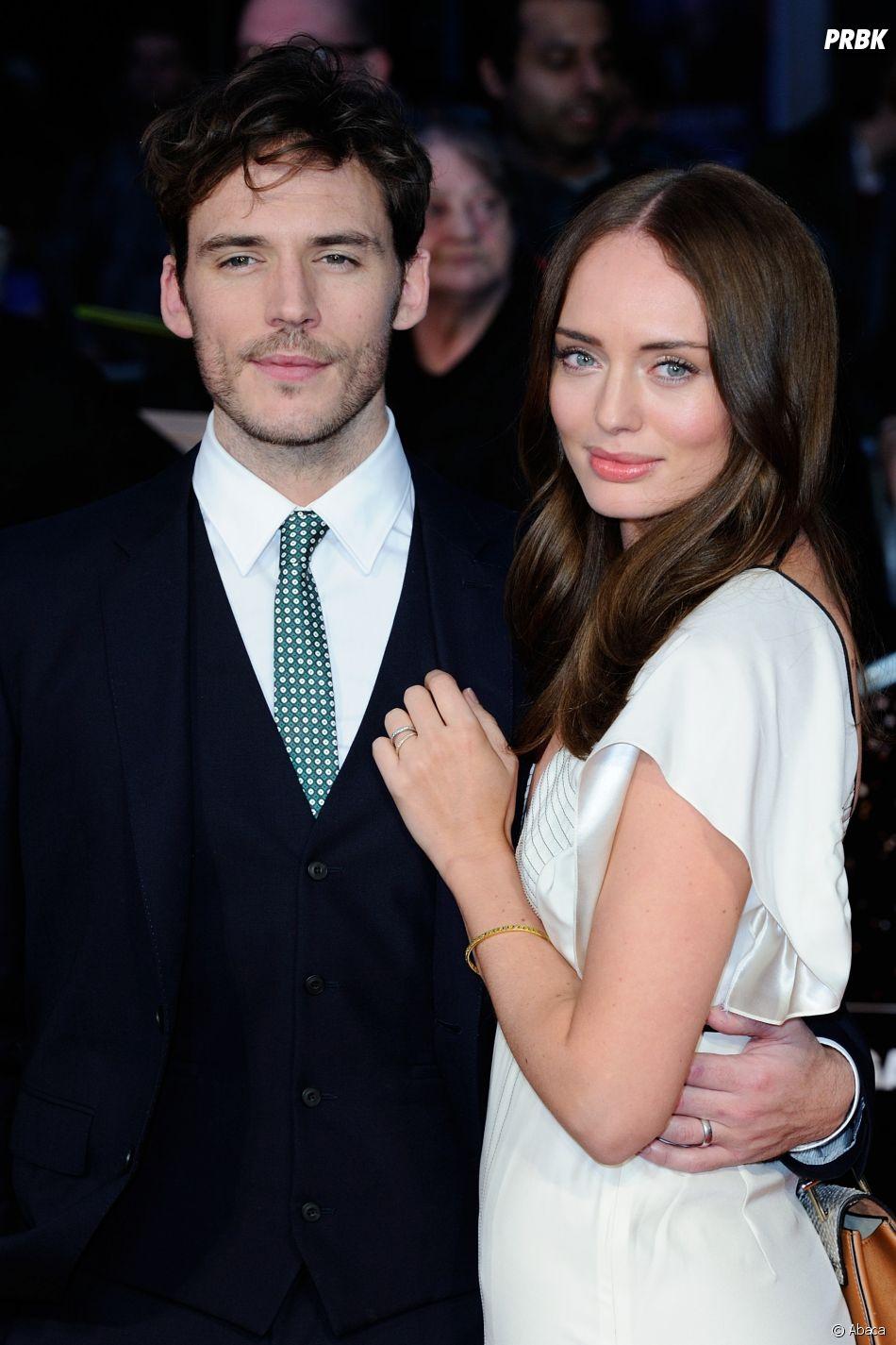 Sam Claflin et sa femme Laura Haddock