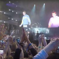 """Justin Bieber attaqué par un fan en plein concert après avoir refusé de chanter """"Despacito"""""""