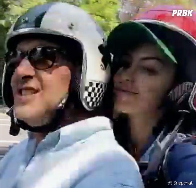 Nabilla Benattia réconciliée avec son papa : leur moment complice sur Snapchat