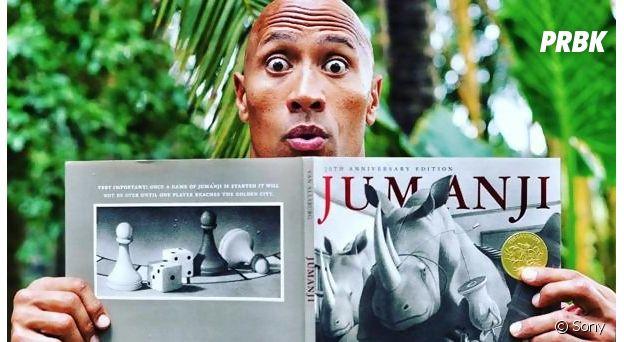 Dwayne Johnson et le jeu Jumanji.
