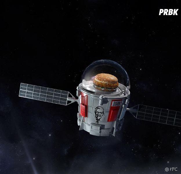 KFC envoie un burger dans l'espace !