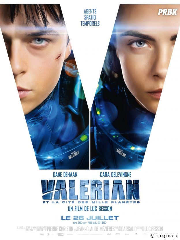 Valerian et la cité des mille planètes.