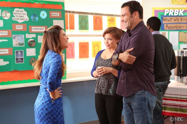 Eva Longoria retrouve Ricardo Chavira dans Welcome to the Family en 2013