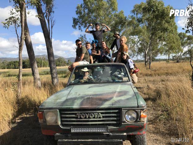 Les Incroyables aventures de Nabilla et Thomas : Nabilla Benattia en compagnie de ses amis