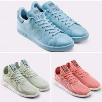 Stan Smith X Tennis Hu de Pharrell Williams : la collection colorée et estivale
