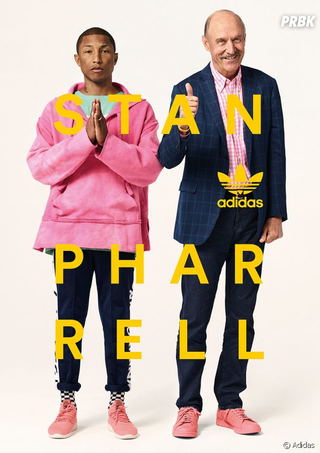 Adidas : Pharrell Williams et Stan Smith s'associent pour une nouvelle collection