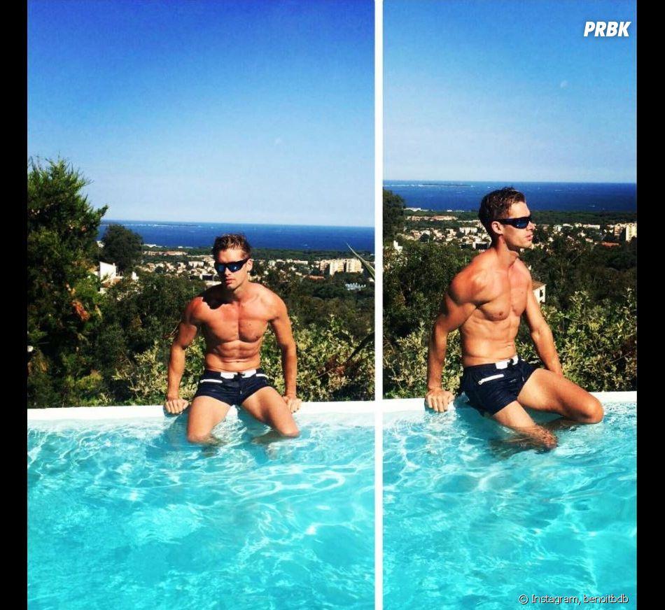 Benoit Dubois partage ses vacances sexy en juillet et août 2017