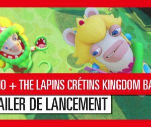 Trailer de lancement Mario + The Lapins Crétins