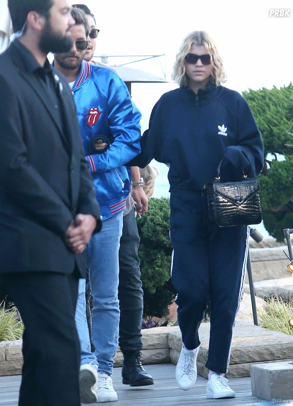 Scott Disick et Sofia Richie ensemble à Malibu