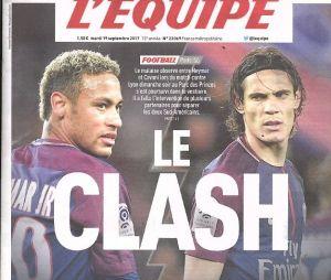 Neymar et Edinson Cavani : vrai clash entre les deux joueurs du PSG ?