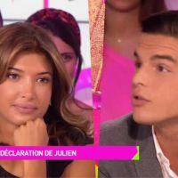 """Julien Castaldi fait une déclaration à Mélanie Dédigama : """"Je t'aime vraiment profondément"""""""