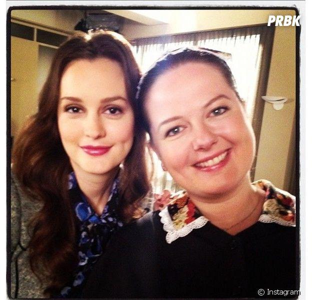 Gossip Girl : Leighton Meester et Zuzanna Szadkowski amies depuis le tournage