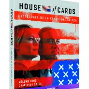 House of Cards saison 5 en DVD et VOD : Frank et Claire Underwood au pouvoir !