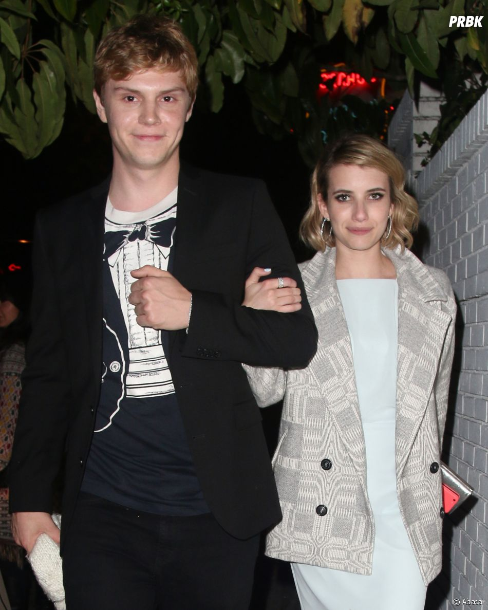 Evan Peters et Emma Roberts toujours in love ?