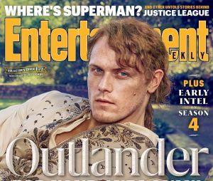 Sam Heughan en Une de Entertainment Weekly