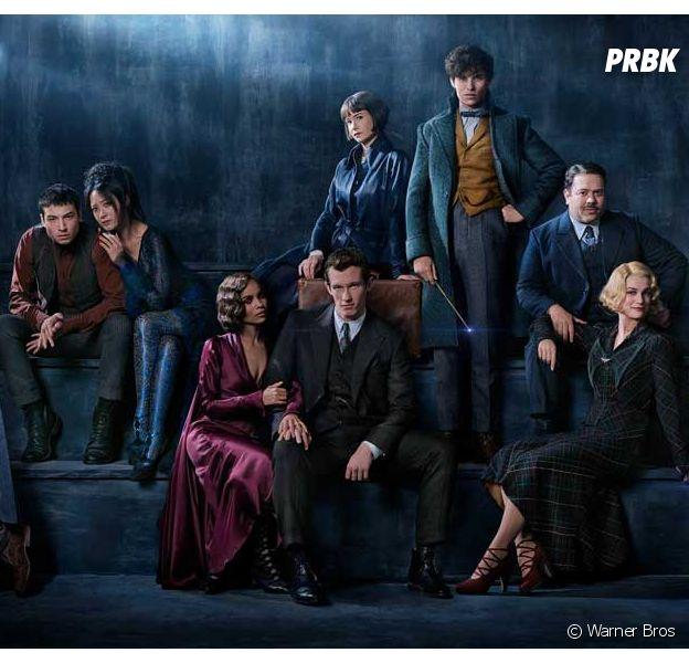 Les Animaux Fantastiques : première photo du film avec Jude Law en Dumbledore