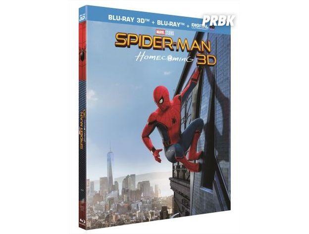 Spider-Man Homecoming : Tom Holland débarque en DVD et Blu-ray