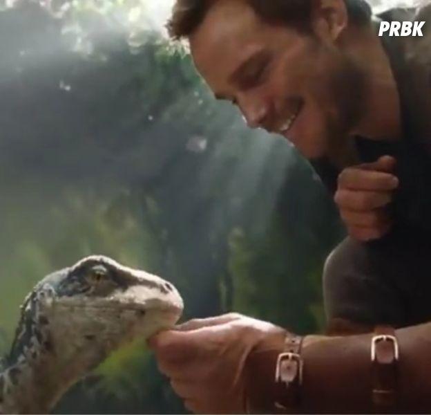 Jurassic World Fallen Kingdom : Chris Pratt en mode câlin dans un premier teaser