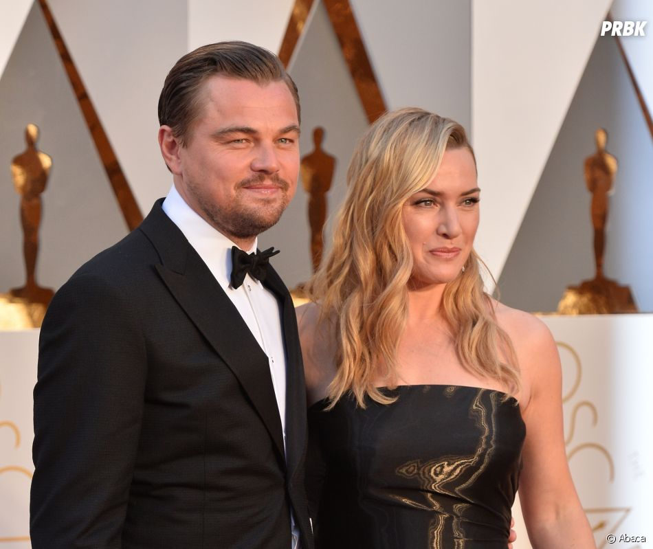 Titanic : Kate Winslet et Leonardo DiCaprio posent sur le red carpet