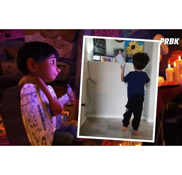 """Coco : un enfant chante """"Remember Me"""" en hommage à sa petite soeur"""