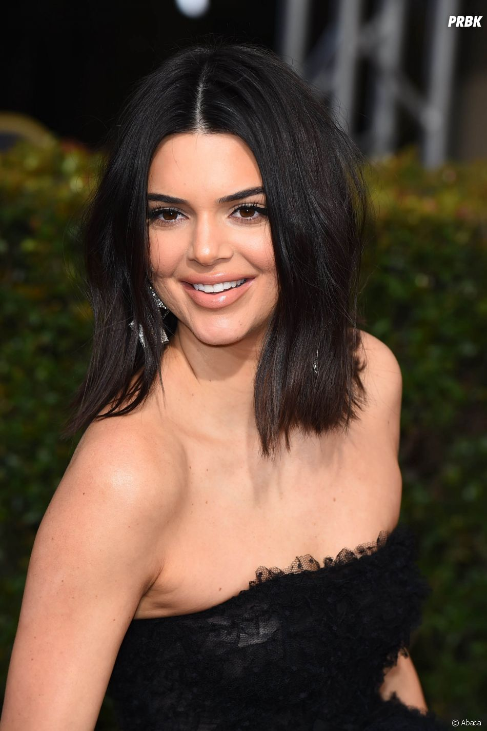 Kendall Jenner sur le tapis rouge des Golden Globes 2018 le 7 janvier à Los Angeles