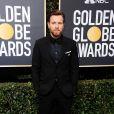 Ewan McGregor sur le tapis rouge des Golden Globes 2018 le 7 janvier à Los Angeles
