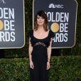 Lena Headey sur le tapis rouge des Golden Globes 2018 le 7 janvier à Los Angeles