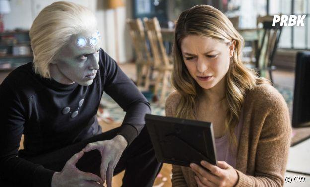 Supergirl saison 3 : Kara et Brainiac 5 sur une photo de l'épisode 10