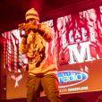 Black M sur la scène du Fun Radio Live au Scénith d'Albi le 2 mars 2018