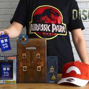 Jurassic Park, Pokemon, Doctor Who... découvrez la Wootbox de mars