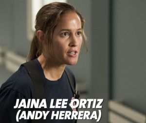 Station 19 : Jaine Lee Ortiz joue Andy Herrera