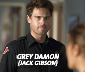 Station 19 : Grey Damon joue Jack Gibson