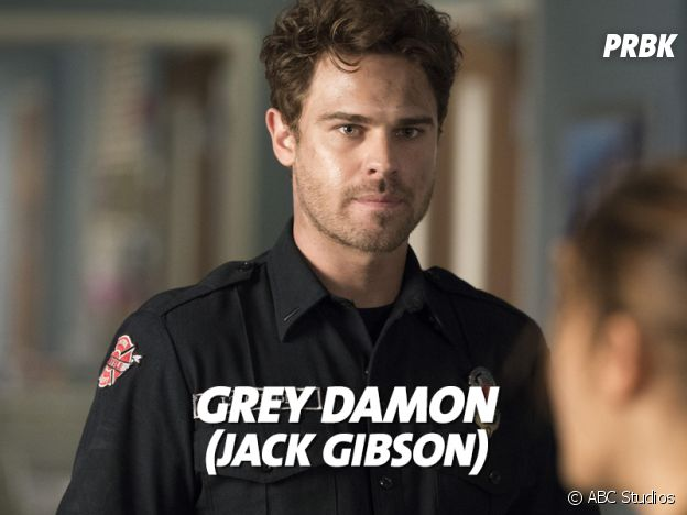 Station 19 : Grey Damon joue Jack Gibson