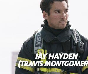 Station 19 : Jay Hayden joue Travis Montgomery