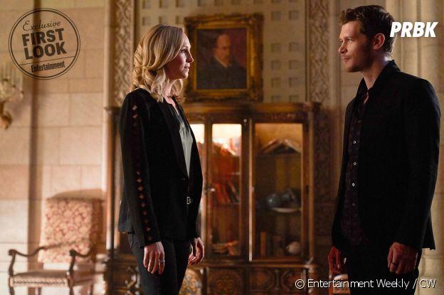 The Originals saison 5  : la première photo des retrouvailles entre Klaus (Joseph Morgan) et Caroline (Candice Accola)