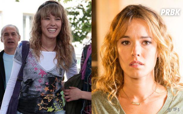 Clem : Elodie Fontan (Alyzée) dans la saison 1 VS dans la saison 8