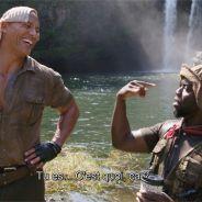 Jumanji : découvrez les coulisses délirantes du film avec Dwayne Johnson