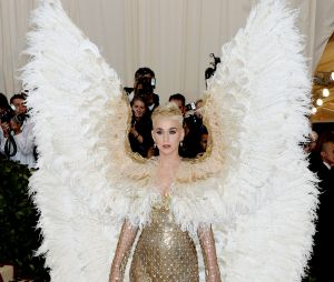 Katy Perry au MET Gala 2018 le 7 mai à New York